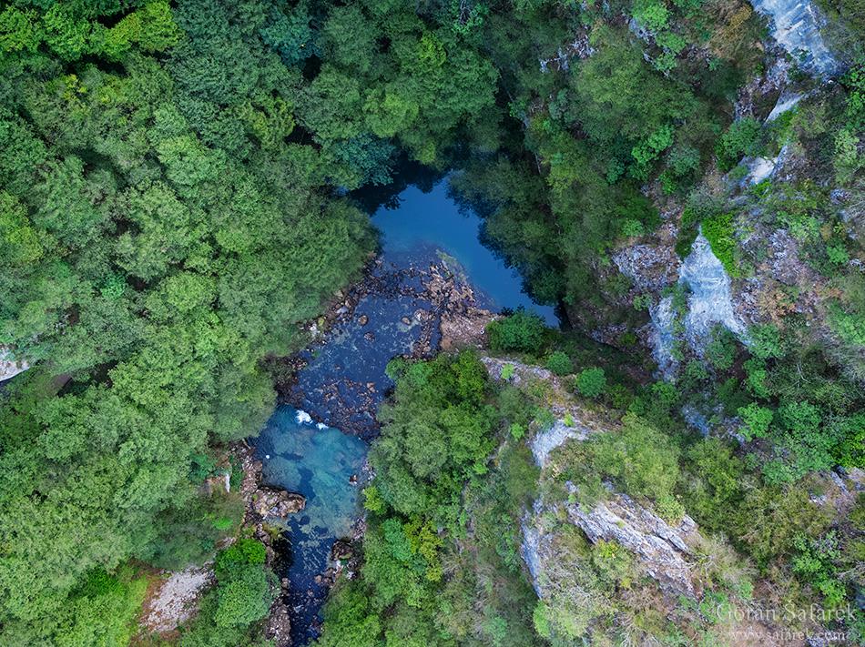 Una, rijeka, Lika, krš, vrelo, izvor