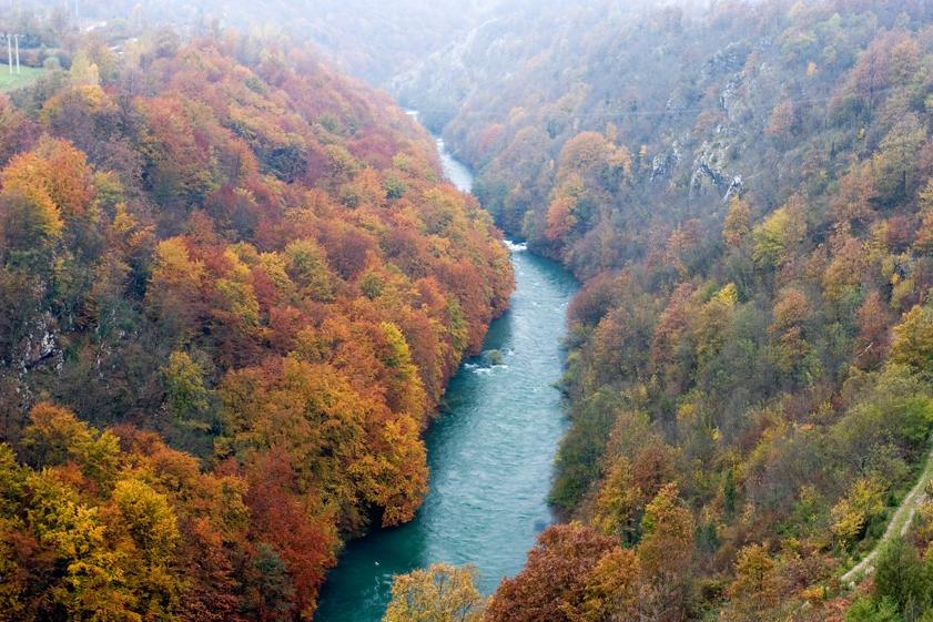 rijeka, dobra, kanjon
