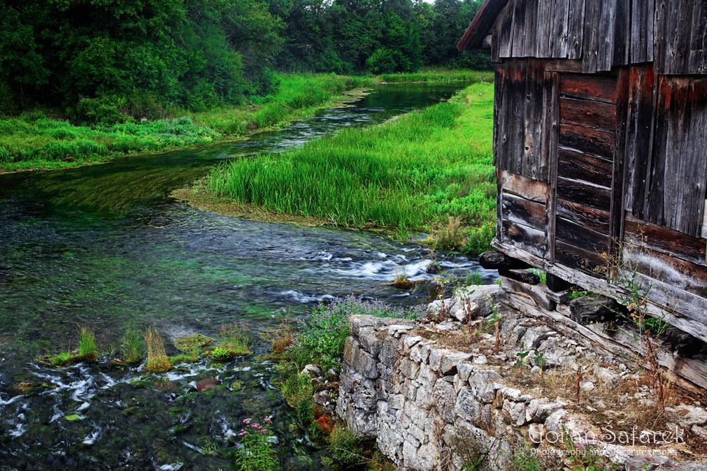 rijeka, gacka, otočac, krško polje, vrelo, mlin