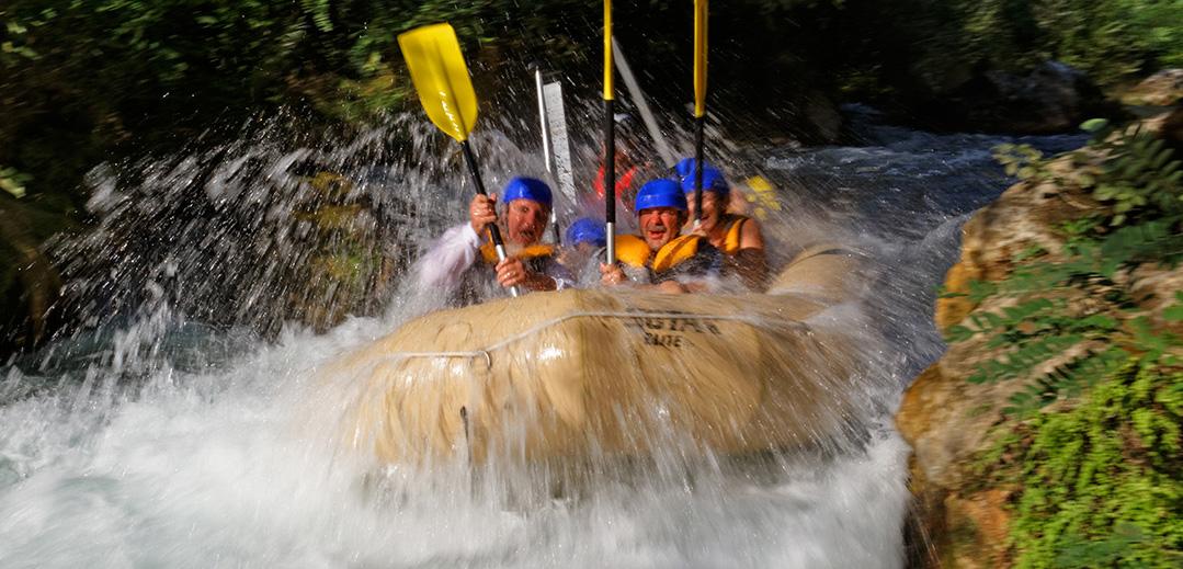 Jahanje na slapovima