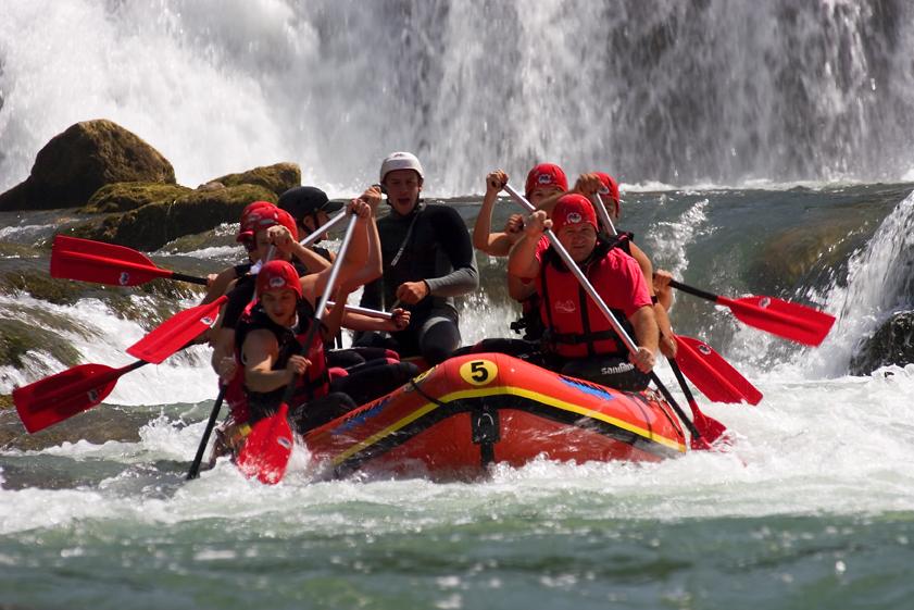 Una, rijeka, Lika, krš, štrbački buk, rafting