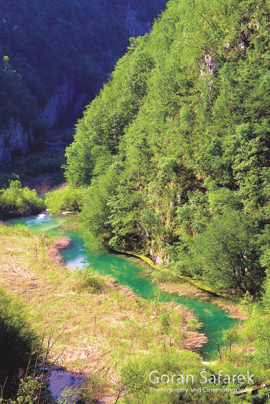 korana, rijeka, sedra,  kanjon