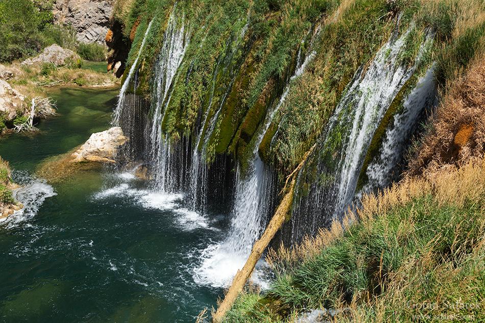 zrmanja, rijeka, kanjon, veliki buk