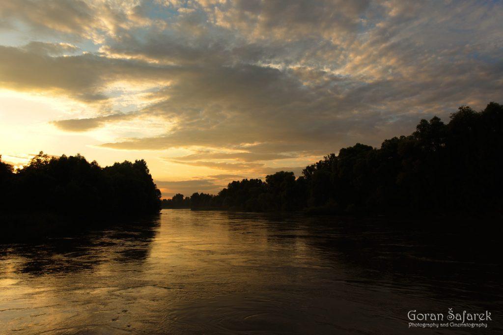 Mura, rijeka, Međimurje, nizina, poplavna nizina, zalazak