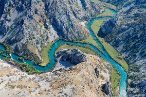 Krupa, rijeka, kanjon, krš, rijeka, voda, ušće, zrmanja